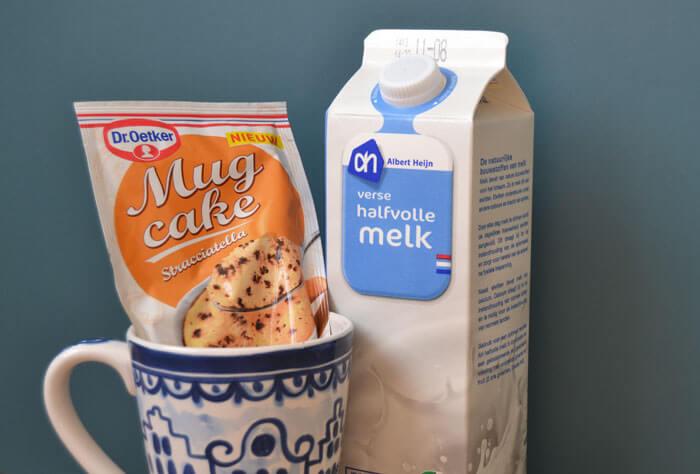 review mug cake dr. oetker