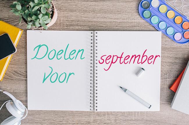 doelen september