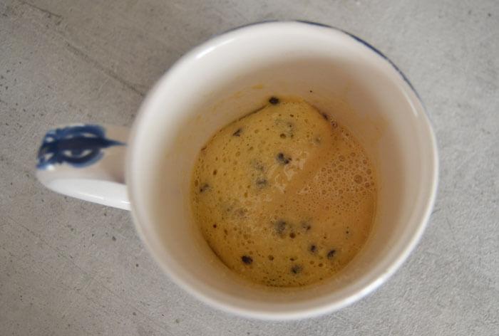 ervaring mug cake dr oetker