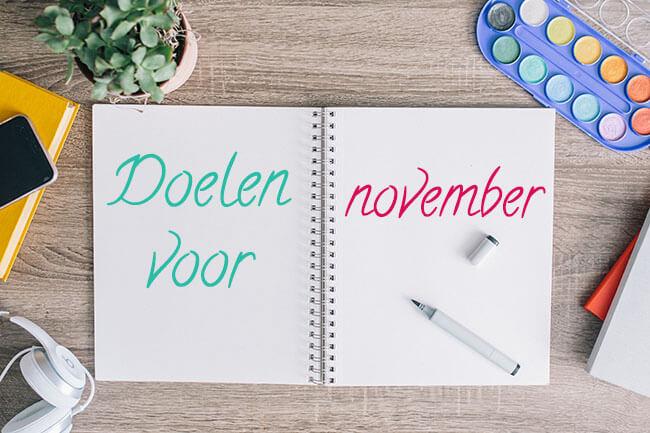 doelen november
