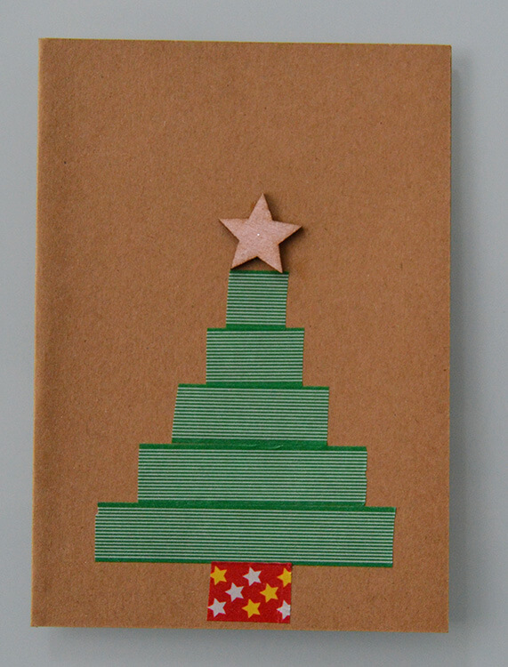 washitape kerstboom