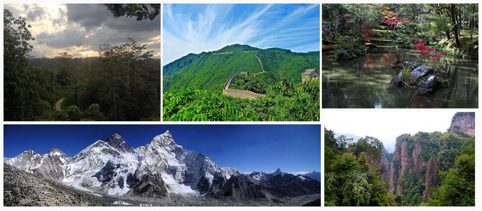 mooie plaatsen in Azië