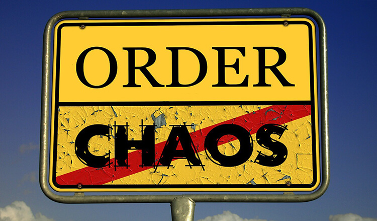 chaotisch