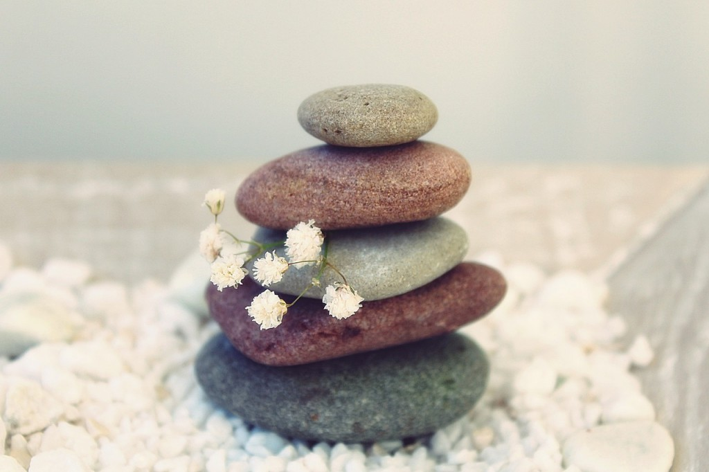 in evenwicht zijn