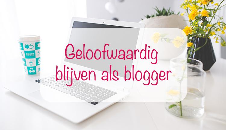 geloofwaardig als blogger