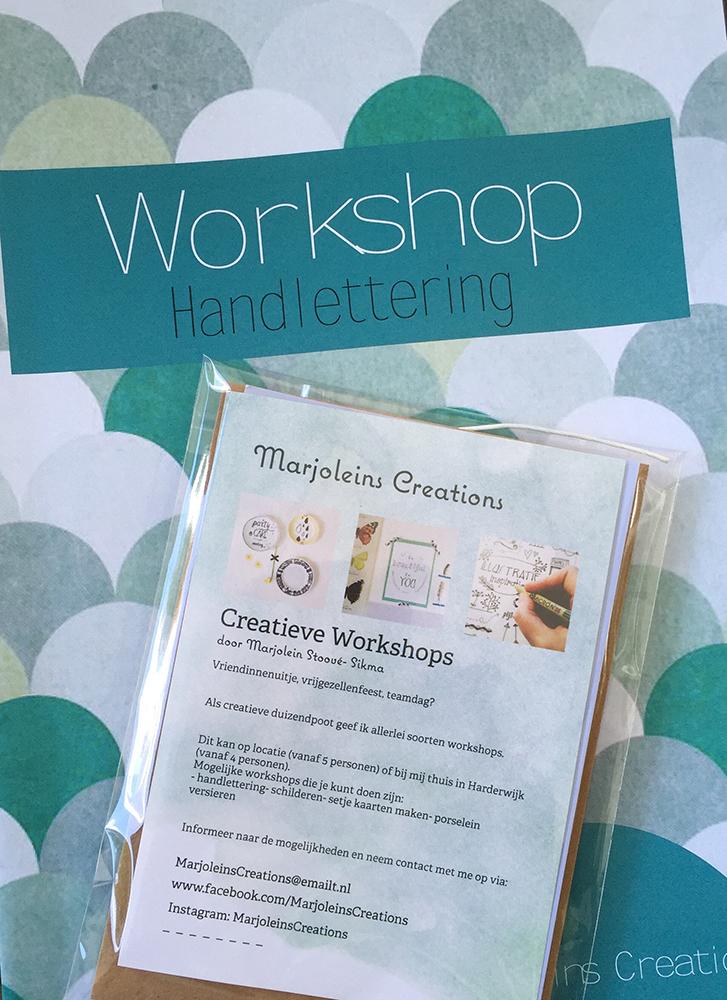 workshop marjoleinscreations