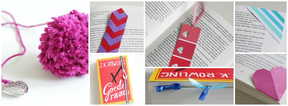 DIY boekenlegger