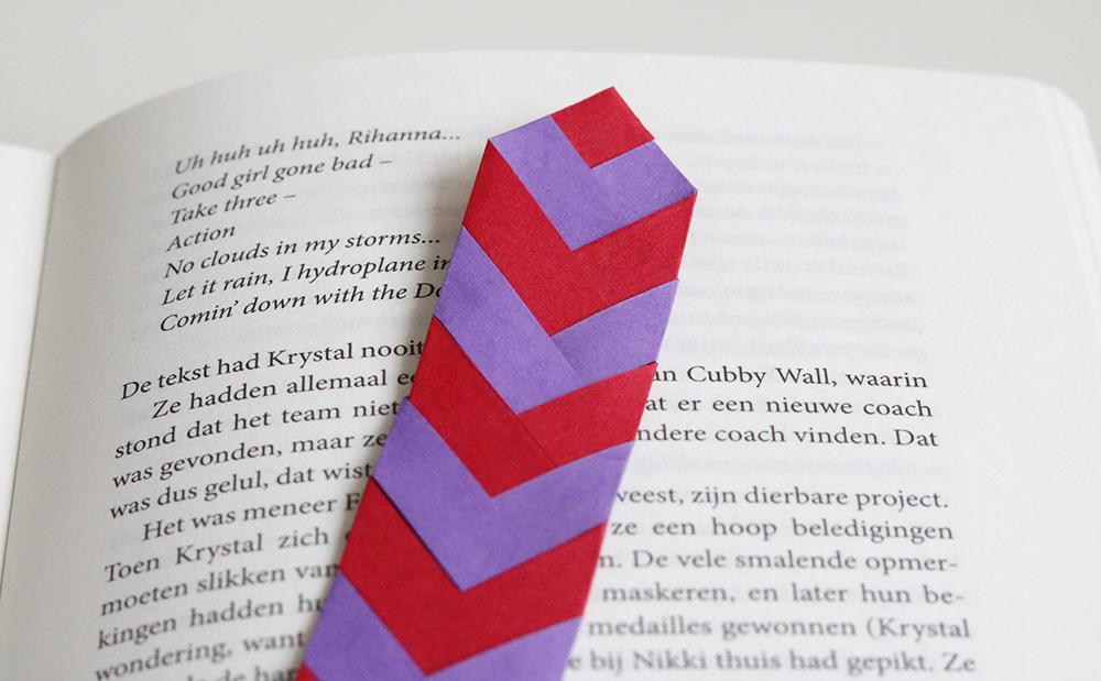 boekenlegger vlechtstroken