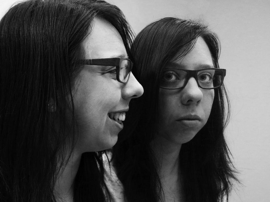 weerspiegeling zelfportret