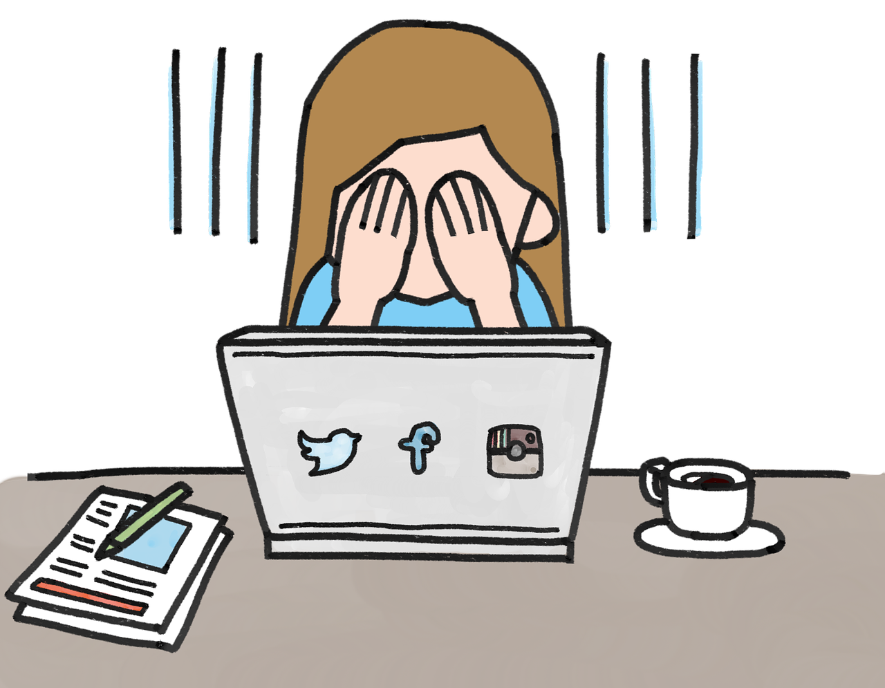 social media en psychische problemen