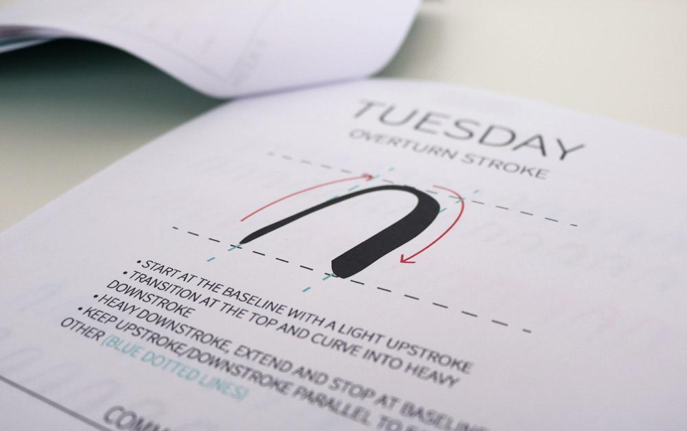 worksheets-handlettering