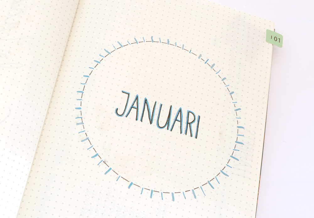 bullet-journal-januari